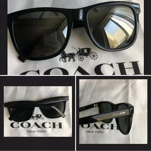 COACH HC8212 (L1641) Black SUNGLASSES $165.no case